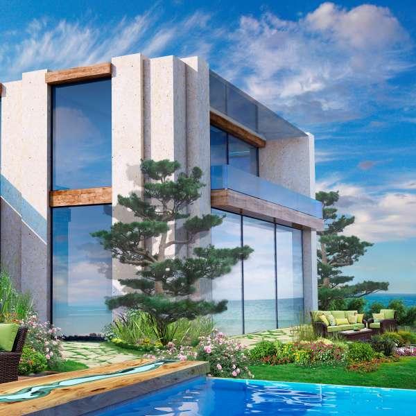 Portfolio Modern Home Design: Stone Buildings / Alexander Ignatenko Portfolio